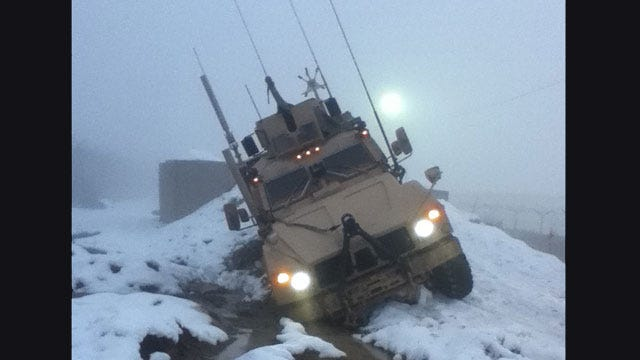 Oklahoma Airman Experiences Heart-Stopping Accident In Afghanistan