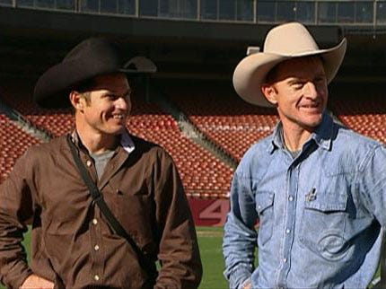 Cowboys Jet and Cord McCoy Competing Again On Amazing Race