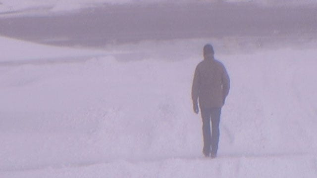 Homeless Oklahoman Says Blizzard Put Life, Priorities In Perspective