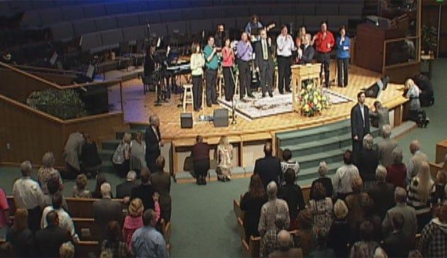 Church Family Shares Faith, Hope On First Sunday Since Pastor's Death