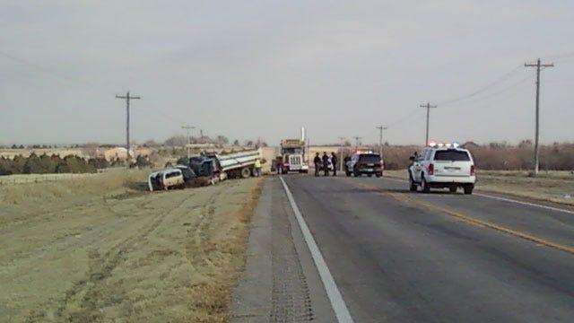Multi-Vehicle Crash Shuts Down Traffic Near Cashion