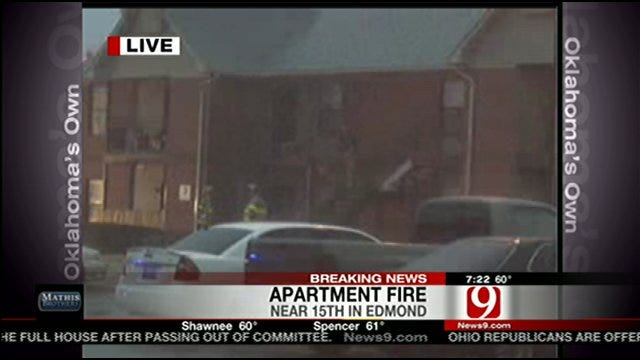 Lightning May Have Sparked Edmond Apartment Fire