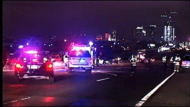 Man Killed In Auto-Pedestrian Crash On Eastbound I-40 In OKC