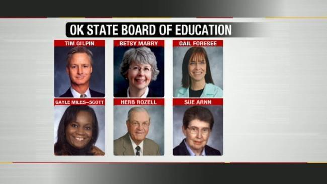 Oklahoma Education Board Meeting Quiet