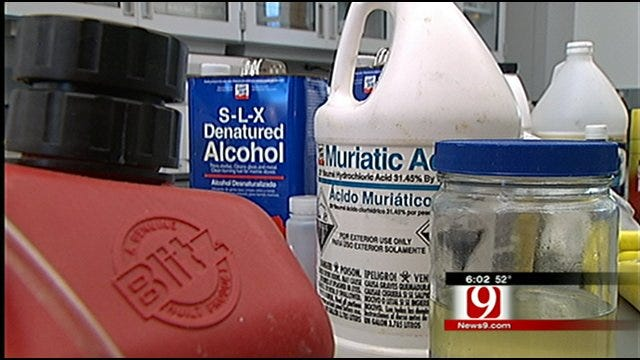 Budget Crisis Leads To Meth Mess For Oklahoma Law Enforcement