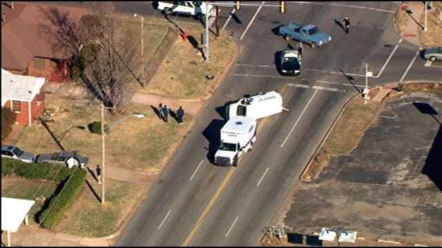 Driver Reportedly Injured In N.E. OKC Rollover Crash