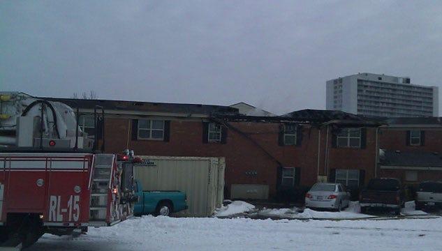 Flames Rip Through Northwest OKC Apartment Complex