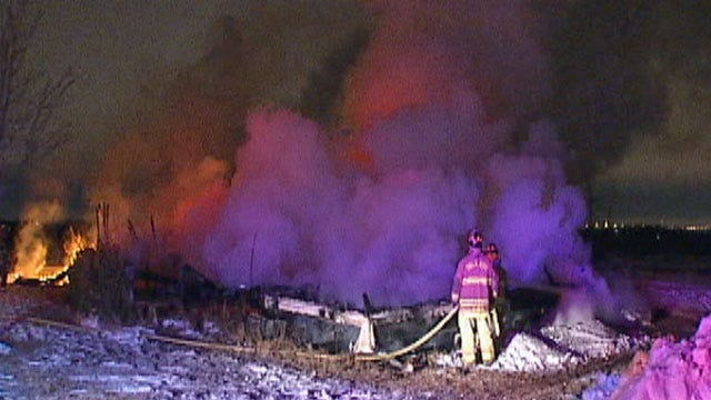 Firefighters Battle Extreme Cold To Fight House Fires In Oklahoma City