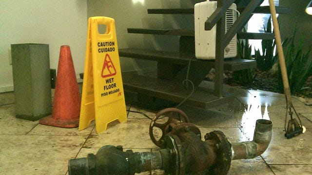 Frozen Pipes Across Norman Cause Problems For Students, Businesses
