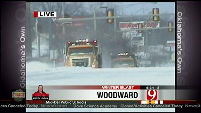 Second Snowstorm In A Week Slams Oklahoma