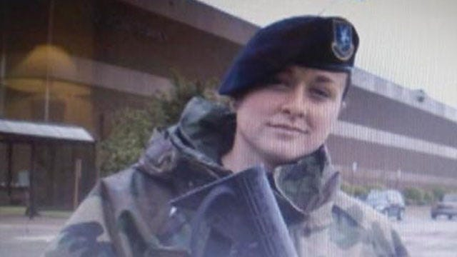 Oklahoma Airman Airs Out Dirty Laundry