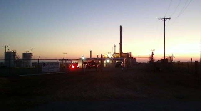 Cashion Firefighters Respond To Small Explosion At Gas Plant