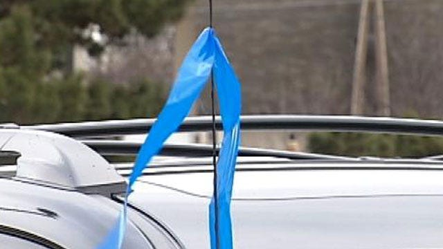 Bright Blue Tape On A Stranded Vehicle Means EMSA Has Been There
