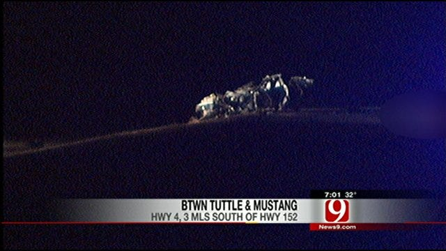 1 Killed In High Speed Accident Near Tuttle