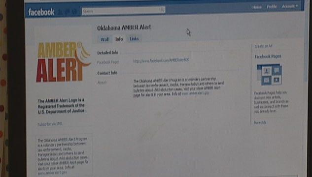 Facebook Helping Spread Amber Alerts