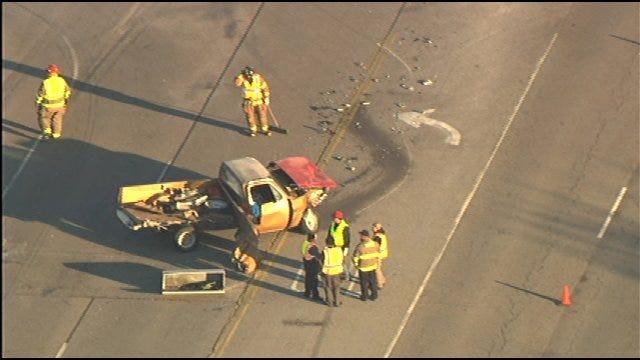 Police Investigate Tuttle Crash