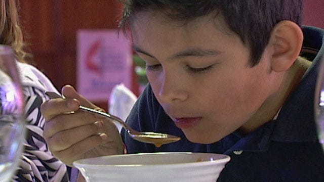 Fine Dining Meal Showcases Manners, Etiquette For At-Risk Children