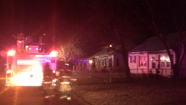 2 Vacant Homes Catch Fire In Oklahoma City Thursday Morning