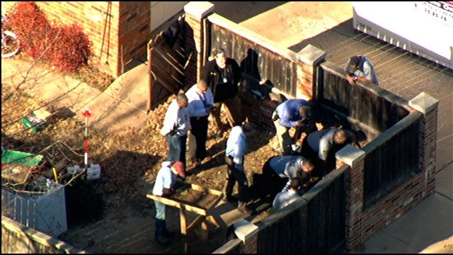 Police Search Backyard Of Norman Home For Remains Of Missing Woman
