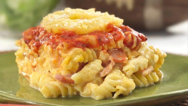 Hawaiian Touchdown Mac And Cheese