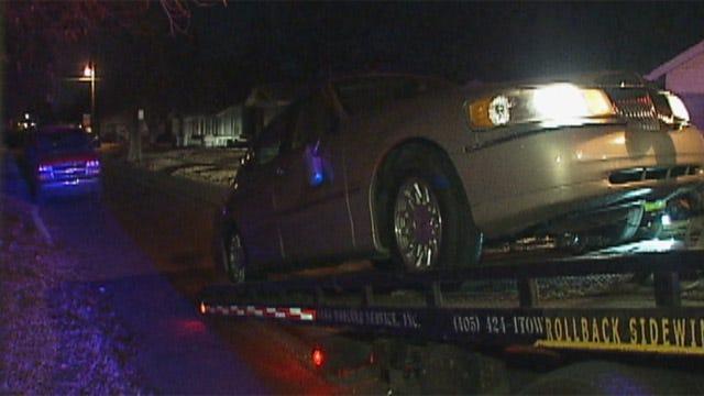 Woman Drives Car Into Oklahoma City Home