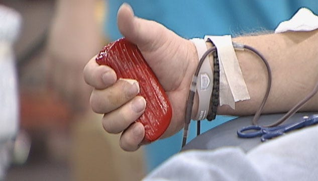 Oklahoma Blood Institute Worries About Blood Donations In Winter Weather