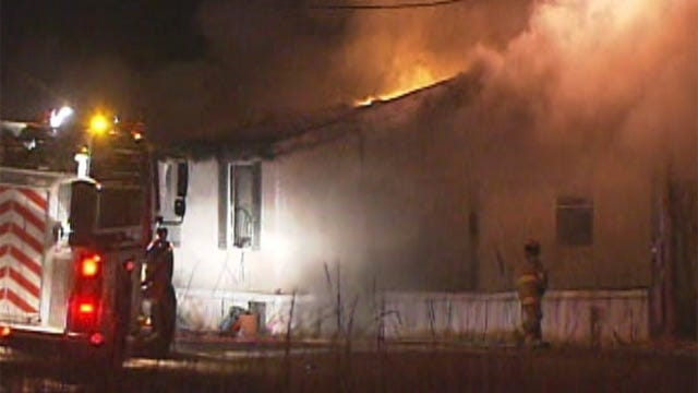 Fireplace To Blame For House Fire In Slaughterville