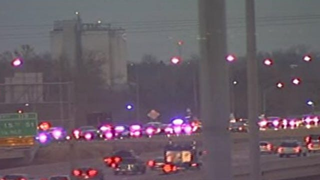 Traffic Accident Slows Morning Commute On I-44 South Of I-40 Junction