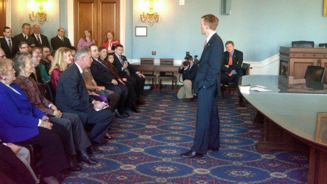 Representative-Elect James Lankford Now Officially Sworn In