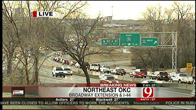 Multiple Accidents Slow Traffic On Broadway Extension During Morning Commute