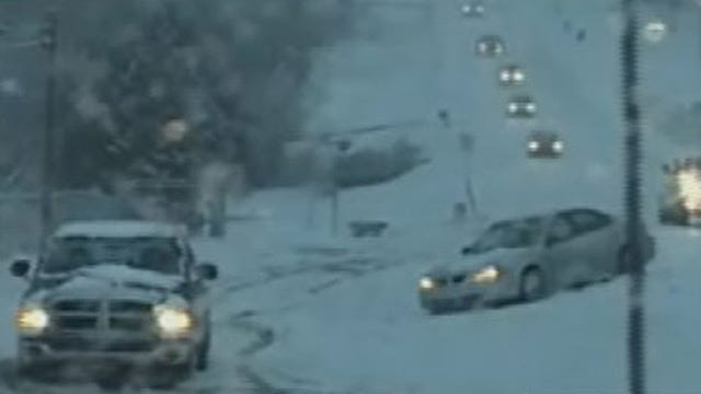 Drivers Experience Slick Monday Morning Commute Across Parts Of State