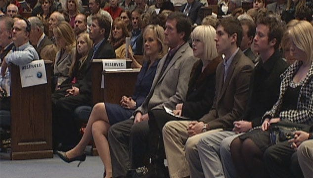 Gov.-Elect Mary Fallin Attends Prayer Service On Eve Of Inauguration