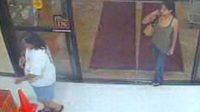 Surveillance Camera Captures Images Of Women In Norman Country Boy Theft