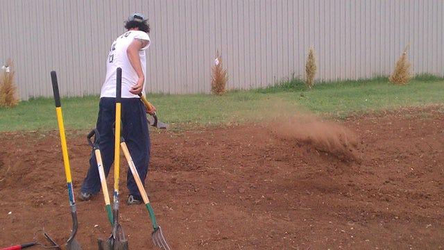 Oklahoma County Jail Inmates Start Farming Program