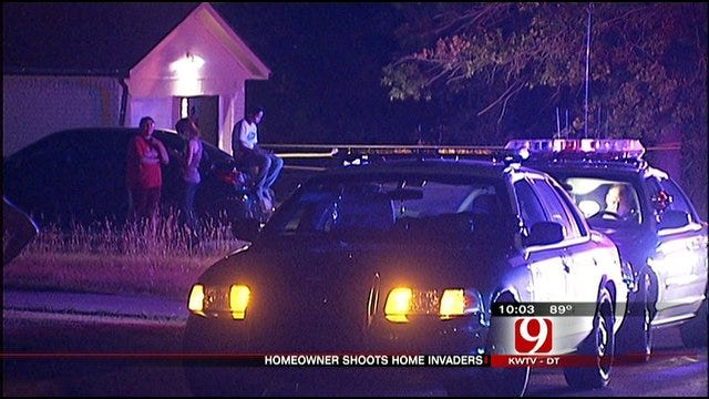 Two Suspects Shot, Third In Jail In Home Burglary Attempt