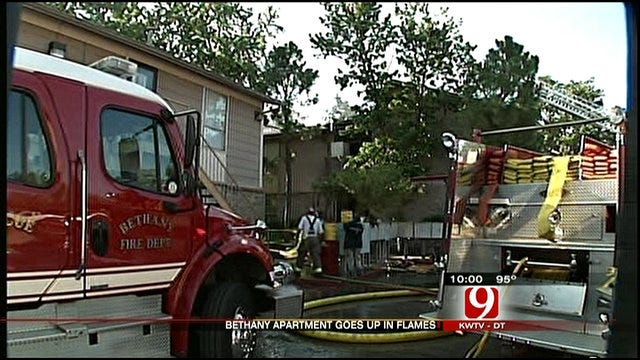 Bethany Firefighters Rescue Family, Douse Apartment Blaze