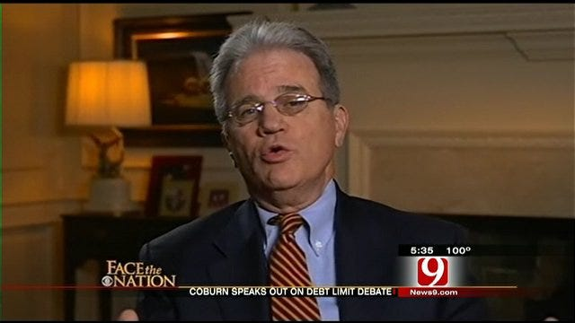 Coburn Reacts To Debt-Ceiling Negotiations