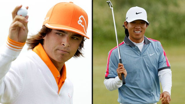 Rickie Fowler, Anthony Kim Finish Tied For Fifth At Open Championship