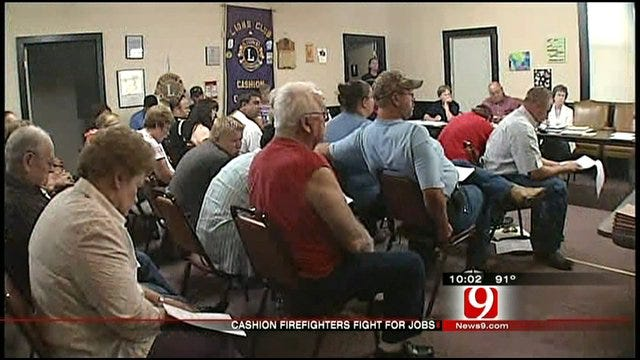 Cashion Meeting Ends With Most Of Former Firefighters Officially Jobless