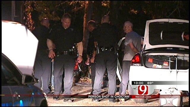 Police Investigate Choctaw Shooting