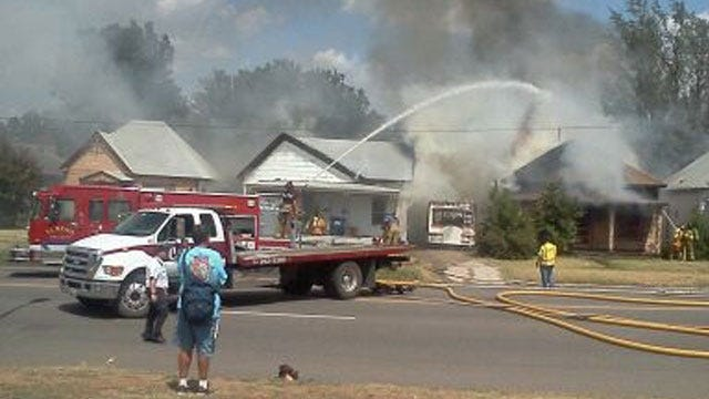 El Reno Firefighters Put Out House Fires