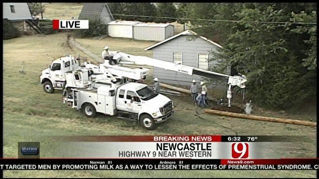 Crash Causes Gas Leak Near Newcastle Pet Cemetery