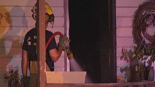 Midwest City Fire Victim Sends Out Warning On A/C Window Units