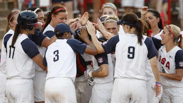 Team USA Softball Beats Czech Republic In First Round