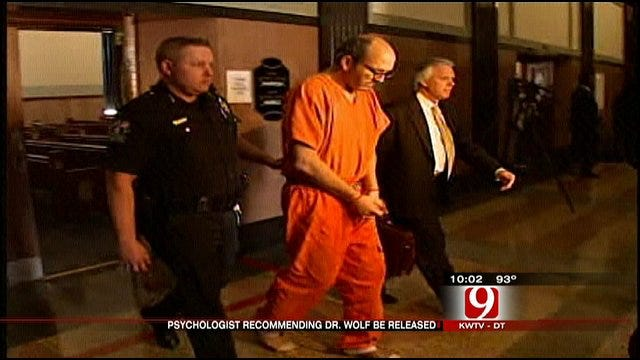 Psychiatrist Recommends OKC Doctor Be Released