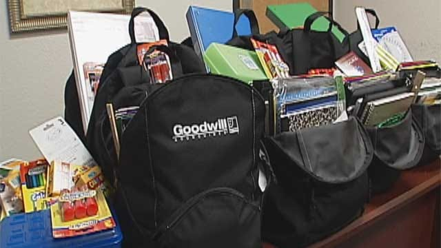 School Supply Drive Helps Homeless OKC Children