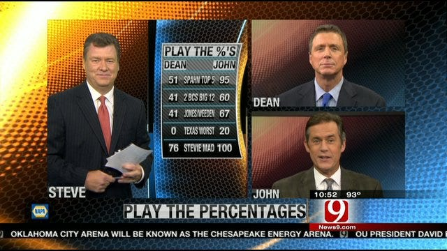 Play the Percentages: July 24, 2011