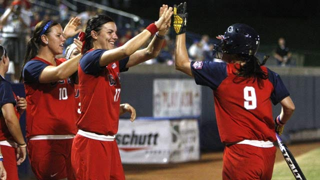 US Claims World Cup Of Softball Title