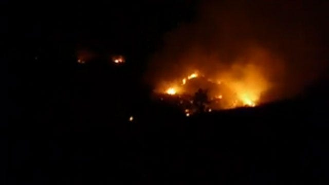 Hundreds Of Children Flee Fires Near Church Camps In SW Oklahoma