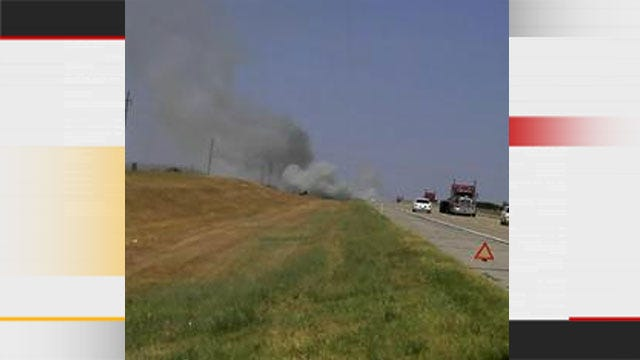 Troopers Evacuate Bridge Creek Area Due To Wildfire